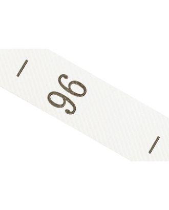 Размерники полиэстер 96 белый 10х25 мм ТВ в рул. 800 шт (20м) арт. МГ-2361-1-МГ0200175