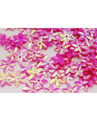 Пайетки россыпью Ideal 15мм цв.028 ярк.розовый уп.50г арт. МГ-2430-1-МГ0201131