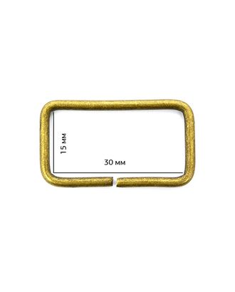 Рамка металл TSW 30х15х2,3мм арт. МГ-2483-1-МГ0202086