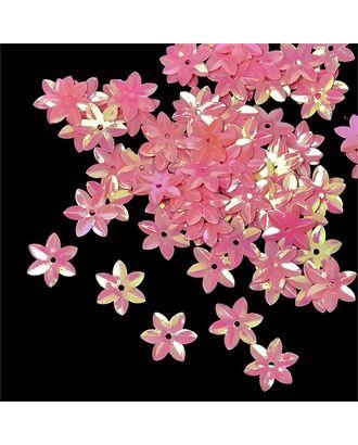 Пайетки россыпью Ideal 15мм цв.029 розовый уп.50г арт. МГ-2499-1-МГ0202996