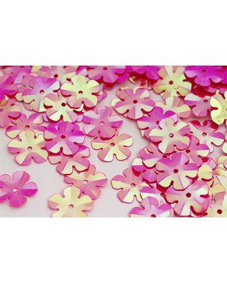 Пайетки россыпью Ideal 14мм цв.028 ярк.розовый уп.50г арт. МГ-2504-1-МГ0203001