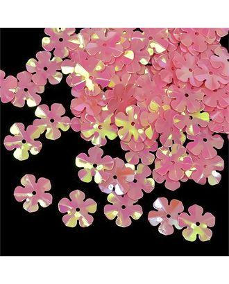 Пайетки россыпью Ideal 14мм цв.029 розовый уп.50г арт. МГ-2505-1-МГ0203002