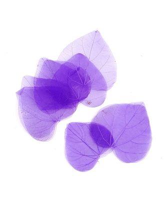 Скелетированные листочки MAGIC HOBBY цв.8 фиолетовый арт. МГ-24219-1-МГ0203810