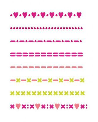 "Трафарет ""Фризы рукодельница"", формат А5 арт. МГ-25452-1-МГ0206451"