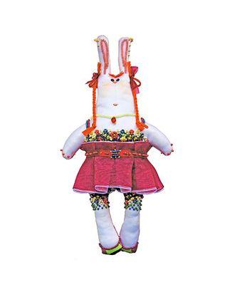 Набор для шитья и вышивания текстильная игрушка 8007 Зайка Уля-рыжуля арт. МГ-2665-1-МГ0208024