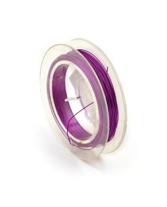 Проволока Ø0,3мм HET-06 цв.розовый рул.50м арт. МГ-26671-1-МГ0209571