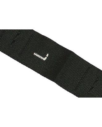 Размерники жаккардовые тафта L черный 10х32 мм ТВ в рул. 500 шт арт. МГ-2731-1-МГ0210233