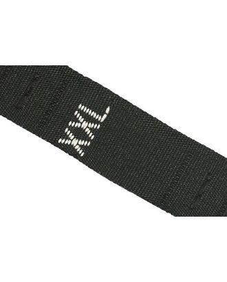 Размерники жаккардовые тафта XXL черный 10х32 мм ТВ в рул.500шт арт. МГ-2735-1-МГ0210237