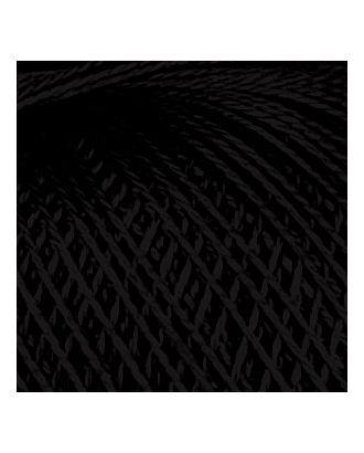 """Нитки для вязания """"Нарцисс"""" (100% хлопок) 6х100г/400м цв.7214 черный, С-Пб арт. МГ-28455-1-МГ0213812"""