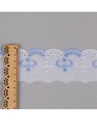 Шитье ш.5см цв.101/182 голубой 100% п/э арт. МГ-2824-1-МГ0214144