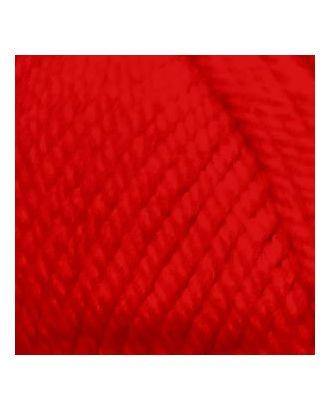 """Пряжа для вязания ПЕХ """"Популярная"""" (50% импортная шерсть, 45% акрил, 5% акрил высокообъёмный) 10х100г/133м цв.006 красный арт. МГ-28762-1-МГ0214656"""