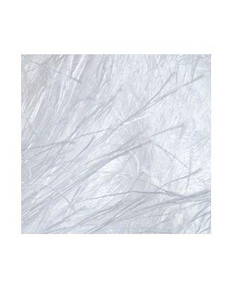"Пряжа для вязания Ализе Decofur ""Травка"" (100% полиэстер) 5х100г/100м цв.0055 белый арт. МГ-28982-1-МГ0215539"