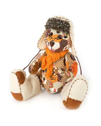 """Набор для изготовления текстильной игрушки """"Потапыч"""" 26х18,5 см арт. МГ-2864-1-МГ0215652"""