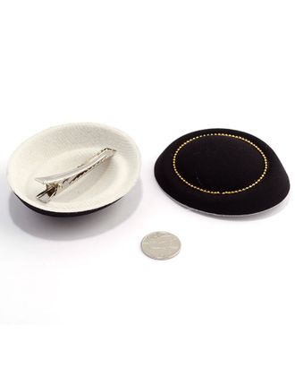 Шляпа (таблетка) р.8х7см цв.черный арт. МГ-2899-1-МГ0216290