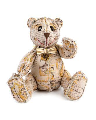 """Набор для изготовления текстильной игрушки в винтажном стиле """"Винтажный Мишка"""" 24,5х18 см арт. МГ-2920-1-МГ0217059"""
