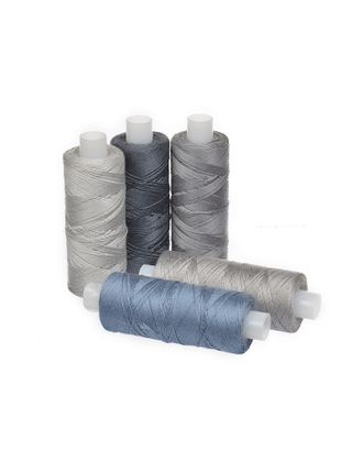 Нить джинсовая цв.серый ассорти 5х250м арт. МГ-29661-1-МГ0218251