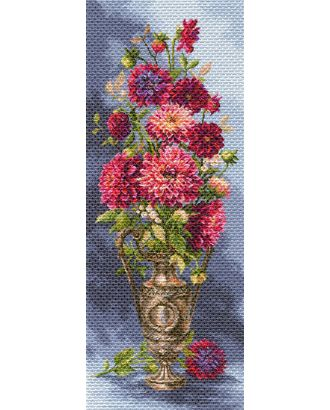 Рисунок на канве МАТРЕНИН ПОСАД - 1705 Мечтательные георгины арт. МГ-29813-1-МГ0229354