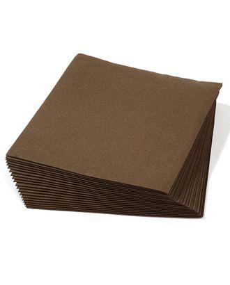 Салфетки Creativ цв.коричневые 40х40 см уп.20 шт арт. МГ-78625-1-МГ0231688