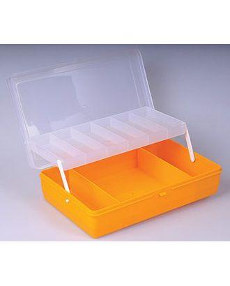 Коробка для мелочей пластмассовая с лифтом (24х15х6,5см) арт. МГ-30793-1-МГ0232866