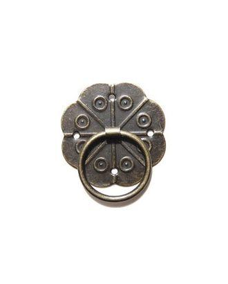 ШРМ45 Декоративная ручка для шкатулок уп.4 шт. 30х30 мм арт. МГ-30844-1-МГ0233004