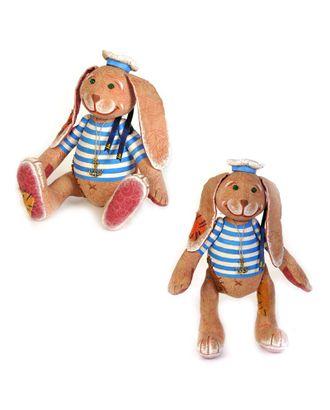 """Набор для изготовления текстильной игрушки в чердачном стиле """"Заяц - Повелитель Морей"""" 24х16,5 см арт. МГ-3179-1-МГ0233010"""