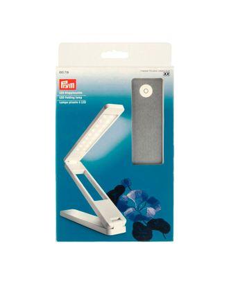 610719 PRYM Складная светодиодная лампа 18х4х3см (в сложенном состоянии) цв. белый/серебристый арт. МГ-3214-1-МГ0233780