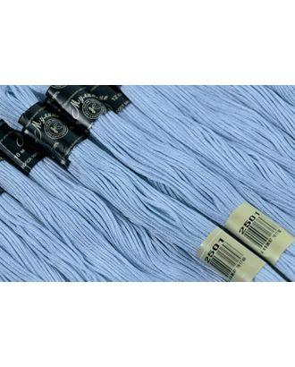Нитки мулине цв.2501 бл.голубой 12х10м С-Пб арт. МГ-31188-1-МГ0233936