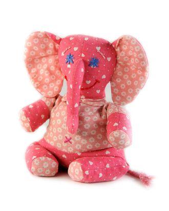 """Набор для изготовления текстильной игрушки-грелки """"Слононек Фантик """" 19см арт. МГ-3244-1-МГ0234393"""