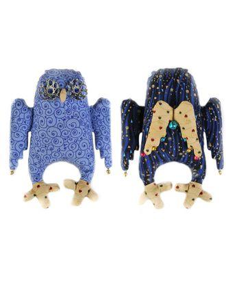 """Набор для изготовления текстильной игрушки """"Сова-Ангел"""" 19см арт. МГ-3245-1-МГ0234394"""