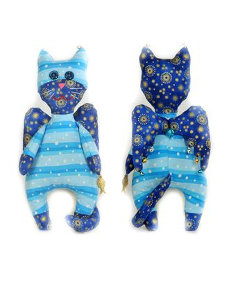 """Набор для изготовления текстильной игрушки """"Кот-Ангел"""" 22,5см арт. МГ-3246-1-МГ0234395"""