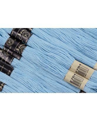 Нитки мулине цв.2704 св.голубой 12х10м С-Пб арт. МГ-31697-1-МГ0235392