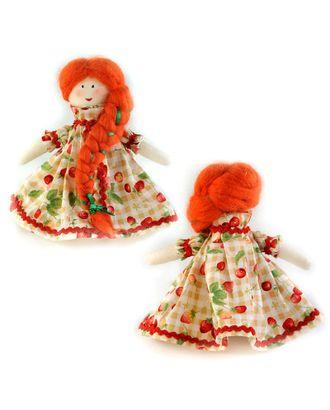 """Набор для изготовления текстильной куклы """"Машенька"""" 15,5 см арт. МГ-3301-1-МГ0235472"""