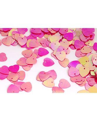Пайетки россыпью Ideal 10мм цв.028 ярк.розовый уп.50г арт. МГ-3495-1-МГ0239194