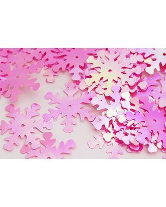 Пайетки россыпью Ideal 25мм цв.029 розовый уп.50г арт. МГ-3496-1-МГ0239195