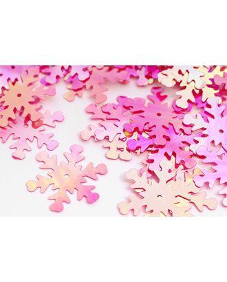 Пайетки россыпью Ideal 25мм цв.028 ярк.розовый уп.50г арт. МГ-3540-1-МГ0239680