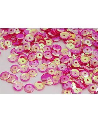 Пайетки россыпью Ideal 8мм цв.28 ярк.розовый уп.50г арт. МГ-3579-1-МГ0240128
