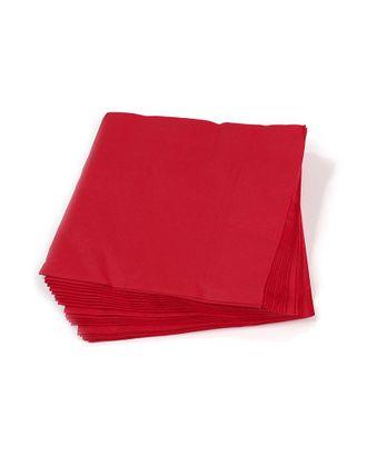 Салфетки Creativ цв.красные 33х33 см уп.20 шт арт. МГ-78773-1-МГ0242768