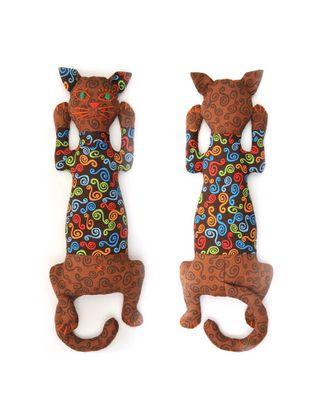 """Набор для изготовления текстильной игрушки-грелки с кофейными зернами """"Кот Кофеман"""" 34,5см арт. МГ-3784-1-МГ0243382"""