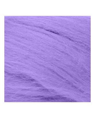 Шерсть для валяния ПЕХОРКА тонкая шерсть (100%меринос.шерсть) 50г цв.389 св. фиалка арт. МГ-33476-1-МГ0243673