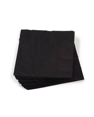 Салфетки Creativ цв.черные 33х33 см уп.20 шт арт. МГ-78792-1-МГ0244841