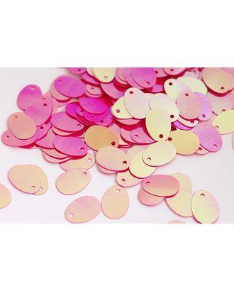 Пайетки россыпью Ideal 9х13мм цв.028 ярк.розовый уп.50г арт. МГ-3896-1-МГ0245307