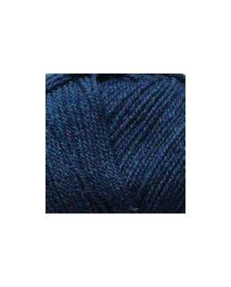 """Пряжа для вязания ПЕХ """"Кроссбред Бразилия"""" (50% шерсть, 50% акрил) 5х100г/490м цв.571 синий арт. МГ-33842-1-МГ0245895"""