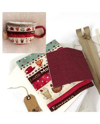 """Набор для изготовления текстильной куклы """"Kitchen story"""" 16см Ваниль арт. МГ-3943-1-МГ0246006"""