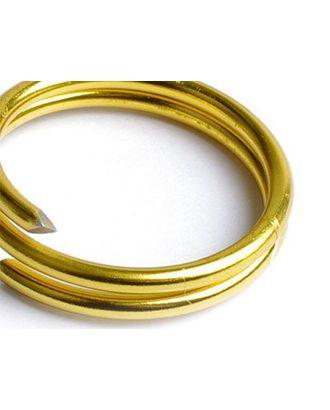 Проволока Ø 2мм цв.14 золото рул.10м арт. МГ-33856-1-МГ0246035