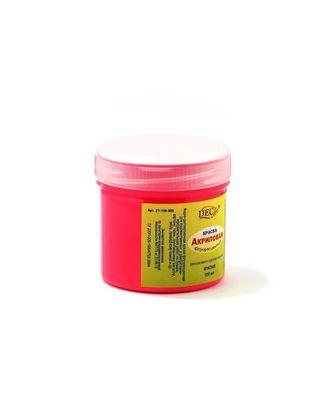 Краска акриловая флу. DecArt 120мл цв.красный арт. МГ-70193-1-МГ0246230