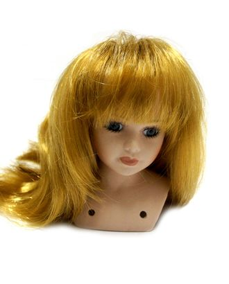 Волосы прямые П50 цв.рыжий арт. МГ-4042-1-МГ0251199