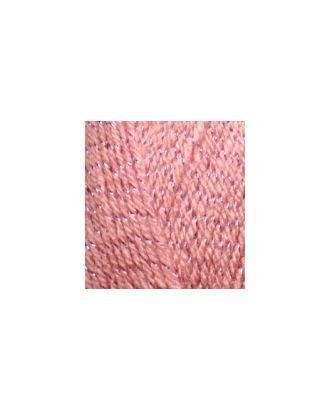 Пряжа для вязания Ализе Sal simli (95% акрил, 5% металлик) 5х100г/460м цв.144 темная пудра арт. МГ-34355-1-МГ0251822