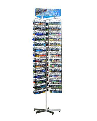 Стенд с бисером Preciosa 10/0 в ассортименте (180смх50см, 420 цветов х10 уп) арт. МГ-34541-1-МГ0253926