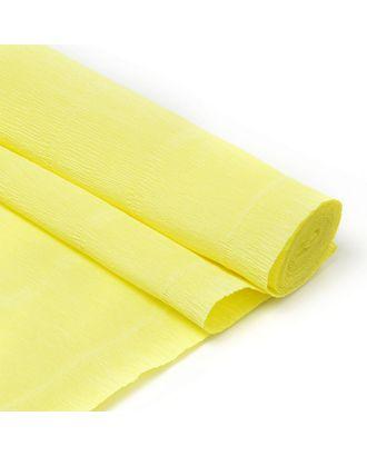 Бумага гофрированная Италия 50см х 2,5м 180г/м² цв.574 желтый арт. МГ-34593-1-МГ0254146