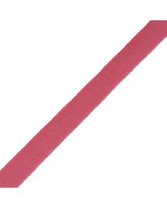 Тесьма киперная ш.1,7см хлопок 1,8г/см цв.ярк.розовый арт. МГ-4147-1-МГ0255401